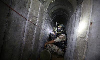 Израильские истребители уничтожили 15 км тоннелей в секторе Газа - Фото