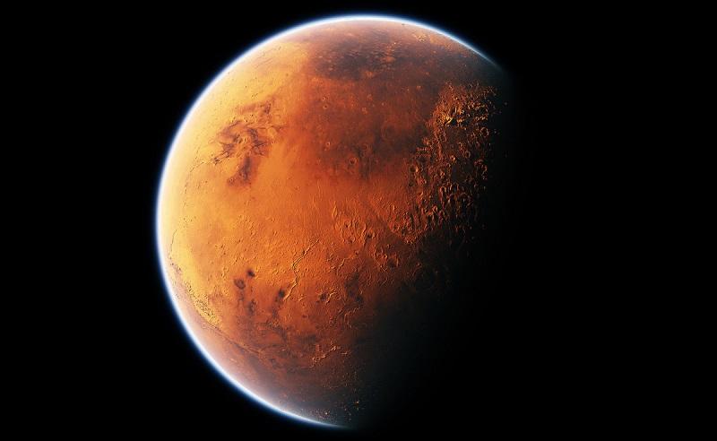 Китайский космический корабль успешно приземлился на поверхность Марса - Фото