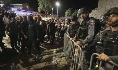 Число пострадавших при столкновениях в Восточном Иерусалиме превысило 200 человек - Фото
