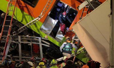 Число погибших при обрушении моста метро в Мехико достигло 24 человек - Фото