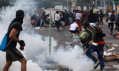 В Боготе более 90 человек пострадали за сутки протестов - Фото