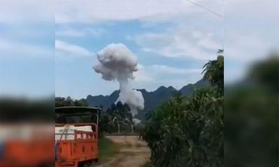 На юге Китая один человек погиб в результате взрыва на ремонтном заводе - Фото