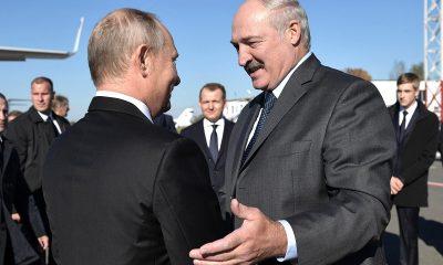 В Кремле подтвердили предстоящую встречу Владимира Путина и Александра Лукашенко - Фото
