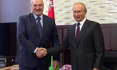 Встреча Путина и Лукашенко в Сочи состоится 28 мая - Фото