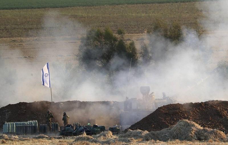 Армия обороны Израиля сообщила о начале воздушной и наземной атаки в секторе Газа - Фото
