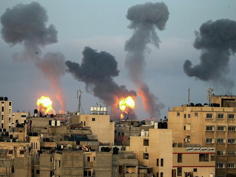 Число погибших в результате ударов Израиля по сектору Газа возросло до 181 - Фото