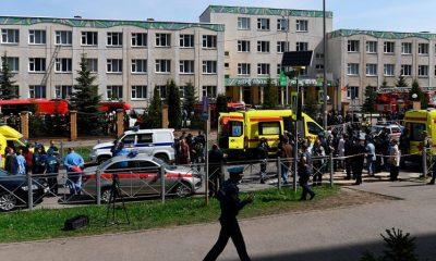Одиннадцать человек погибли в результате стрельбы в школе в Казани - Фото