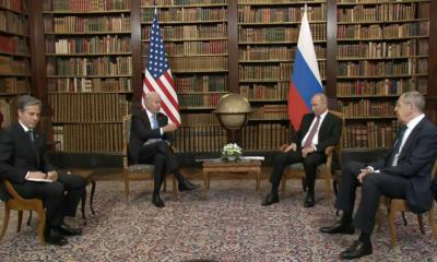 Лавров: Путин и Байден обсуждали Беларусь в контексте концептуальной дискуссии - Фото