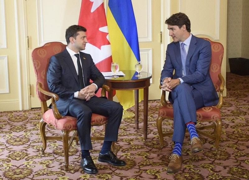 Президент Украины Зеленский обсудил с премьером Канады Трюдо ситуацию в Беларуси - Фото