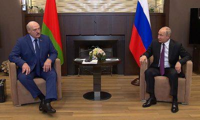 Президент Беларуси Лукашенко рассказал о содержимом чемодана, который он взял в Сочи на встречу с Путиным - Фото