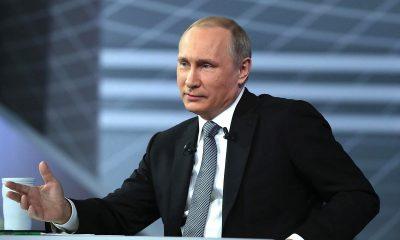 Путин заявил, что у него нет оснований не верить версии Лукашенко о вынужденной посадке реса Ryanair в Минске - Фото