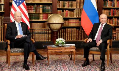 Владимир Путин и Джо Байден договорились о взаимном возвращении послов - Фото
