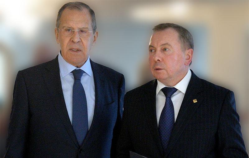 Макей информировал Лаврова о ходе конституционной реформы в Беларуси - Фото