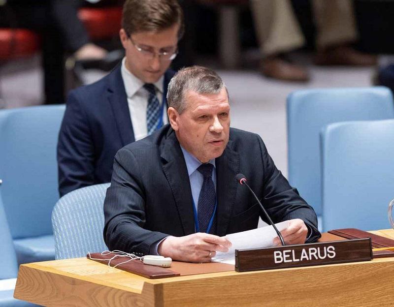 Постпред Беларуси Рыбаков призвал США не связывать решение о санкциях против Минска с лидером оппозиции Тихановской - Фото