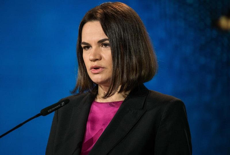 Тихановская заявила, что белорусская оппозиция одержит победу с помощью Байдена - Фото