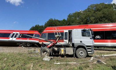 На северо-западе Польши поезд столкнулся с грузовиком - пострадали 8 человек - Фото