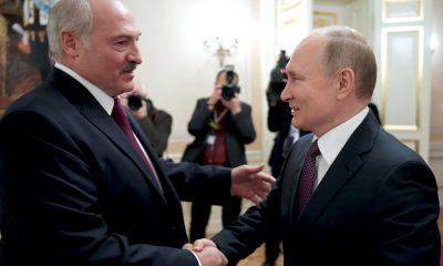Президент Беларуси Лукашенко сегодня встретится с президентом России Путиным в Санкт-Петербурге - Фото