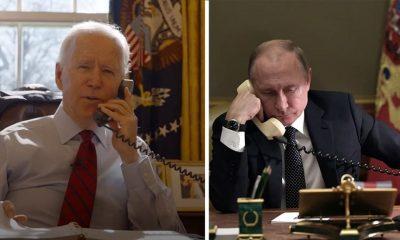 Путин и Байден, фото