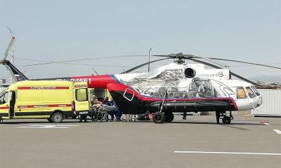 На Камчатке разбился вертолёт с туристами. Выжили 8 из 16 человек - Фото