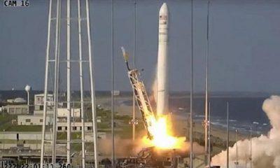 НАСА успешно запустило грузовой корабль Cygnus к МКС - Фото