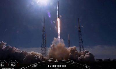 Ракета Falcon 9 с грузовым кораблем Dragon успешно стартовала к МКС - Фото