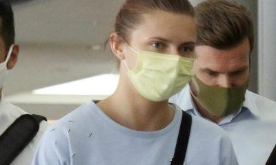 Белорусская спортсменка Кристина Тимановская прибыла в Вену - Фото