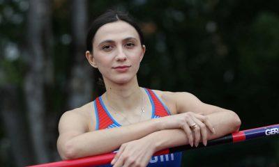 Россиянка Мария Ласицкене завоевала золото в прыжках в высоту на Олимпиаде в Токио - Фото