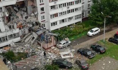 В подмосковном Ногинске произошел взрыв газа в 9-этажном жилом доме - Фото