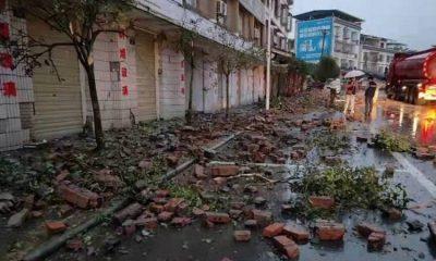 Три человека погибли врезультате землетрясения магнитудой 6,0 наюго-западе Китая - Фото