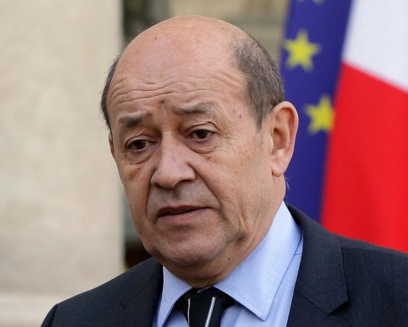 Сегодня глава МИД Франции Ле Дриан встретиться с Тихановской - Фото