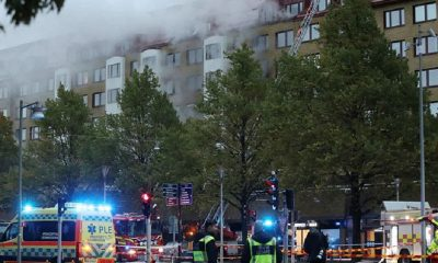 Более 20 человек госпитализировали после взрыва дома в Гётеборге - Фото