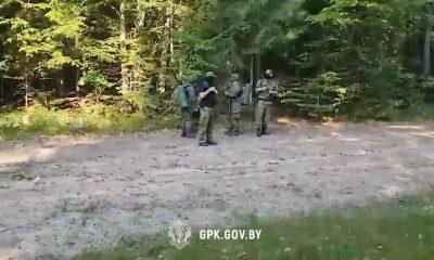 Польские пограничники пытались тайно вытеснить группу беженцев на территорию Беларуси - Фото