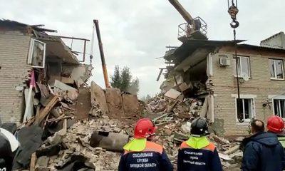 Под Ельцом в 2-этажном жилом доме произошел взрыв газа - Фото